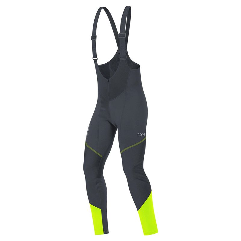 Cuissard Gore Bike Wear E Ws So black-Neon Femme