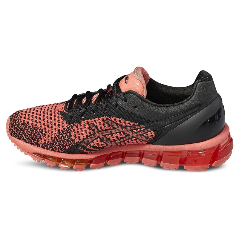 wholesale dealer 21acb 0b7ce ... Asics Gel Quantum 360 Knit Black-Orange Woman Shoes2 ...