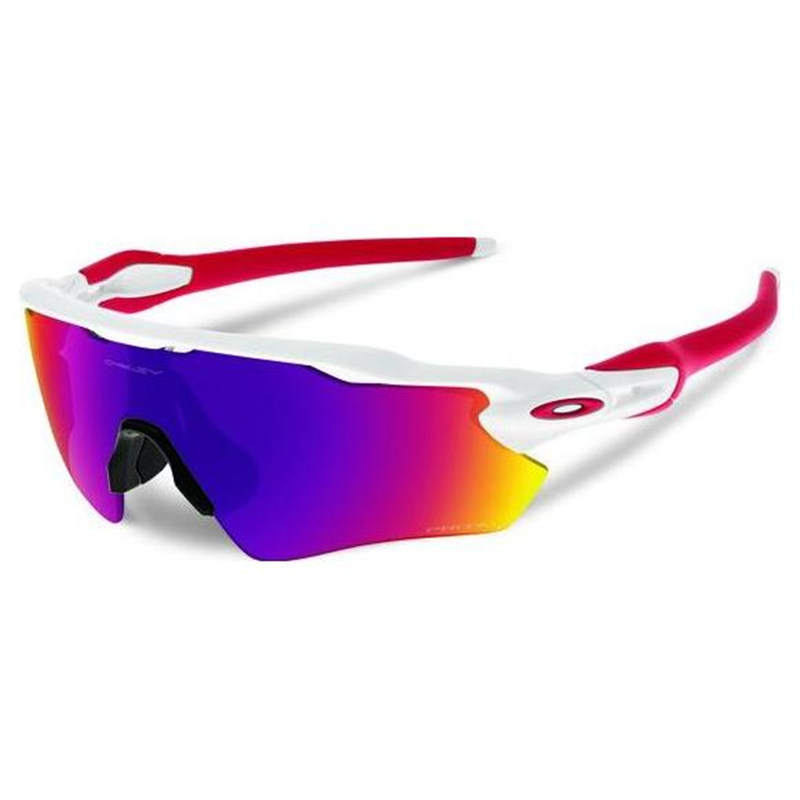 ad8e47b64a Oakley Radar EV Path Prizm Road White Sunglasses - Retto